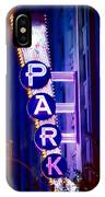 Fort Worth Parking IPhone Case