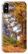 Fortification Koenigstein In Autumn Time IPhone Case