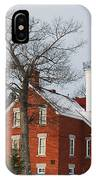 Forty Mile Point Lighthouse IPhone Case