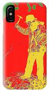 Fossil Hunter Red Yellow Green IPhone Case