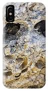 Fossil Rock Abstract - Eyes IPhone Case