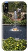 Fountain And Peppers IPhone Case