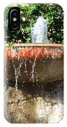 Fountain At Taliesen IPhone Case