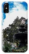 Fountain In Downtown Charleston IPhone Case