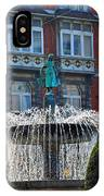 Fountain Of Brussels IPhone Case
