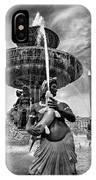 Fountain On Place De La Concorde - Paris IPhone Case
