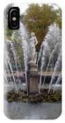 Fountain On The Grounds Of The Peterhof Grand Palace IPhone Case