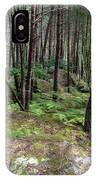 Fountainbleau Forest IPhone Case