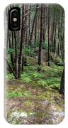 Fountainbleau Forest IPhone Case