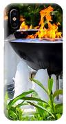 Fountains Of Fire IPhone Case