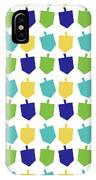 Four Dreidels Pattern- Art By Linda Woods IPhone Case