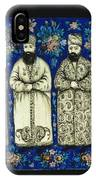 four grandees associated with the court of Nasir al-Din Shah IPhone Case