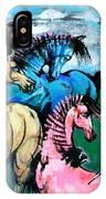 Four Horses IPhone Case