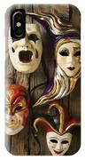 Four Masks IPhone Case
