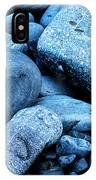 Four Rocks In Blue IPhone Case