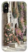 four seasons- spring in Tuscany IPhone Case
