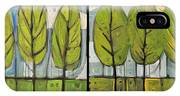 Four Seasons Tree Series IPhone Case