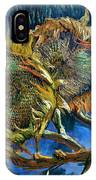 Four Sunflowers Gone To Seed, By Vincent Van Gogh, 1887, Kroller IPhone Case