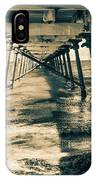 Fowlers Bay Jetty IPhone Case