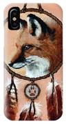 Fox Medicine Wheel IPhone X Case