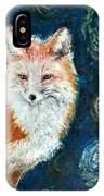 Fox Red  Painting  IPhone Case
