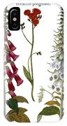 Foxglove And Hawkweed IPhone Case