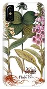 Foxglove And Herb Paris IPhone Case