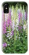 Foxglove Garden - Vertical IPhone Case