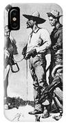 Fr 043 Third Cavalry Trooper Searching A Suspected Revolutionist Fredericremington Sqs Frederick Remington IPhone Case