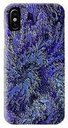 Fractal Blues IPhone Case