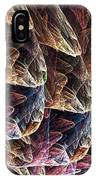 Fractal Filled Plastic Bags IPhone Case