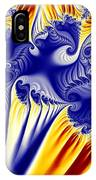 Fractal Fireworks IPhone Case