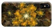 Fractal Floral 02-12-10 IPhone Case