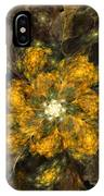 Fractal Floral 02-12-10 IPhone Case