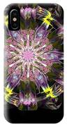Fractal Flowers 10-20-09 IPhone Case