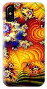 Fractal Furrows IPhone Case