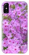 Fragrant Phlox IPhone Case