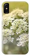 Framed Cow Parsley IPhone Case