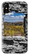 Framed In Black And White IPhone Case