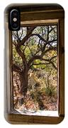 Framed Mesquite Tree IPhone Case