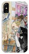 France: Brothel, 1904 IPhone Case