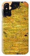 France Map IPhone Case