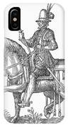 France: Officer, 1572 IPhone Case
