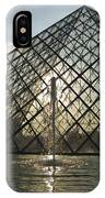 France, Paris The Louvre Museum IPhone Case