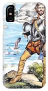 Francis Drake And The Golden Hind IPhone Case