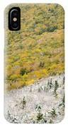 Franconia Notch State Park - White Mountains Nh Usa Autumn IPhone Case