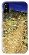 Franconia Ridge Alpine Trail IPhone Case