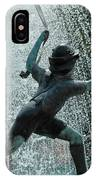 Frankenmuth Fountain Boy IPhone Case