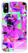 Frankenstein In Abstract Cubism 20170407 Square IPhone Case