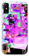 Frankenstein In Abstract Cubism 20170407 IPhone Case